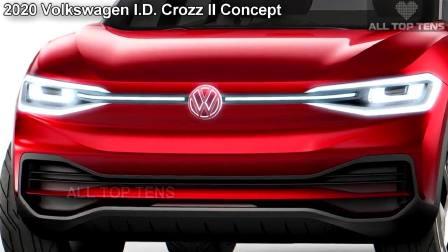 2017法兰克福车展 大众I.D.Crozz II Concept亮相