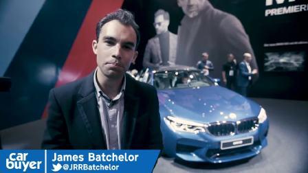 2017法兰克福车展 新宝马M5发布