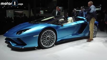 2017法兰克福车展 兰博基尼Aventador Roadster
