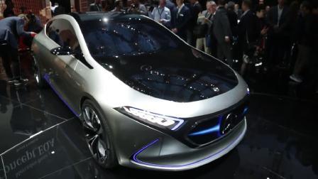 2017法兰克福车展 奔驰概念车Concept EQA