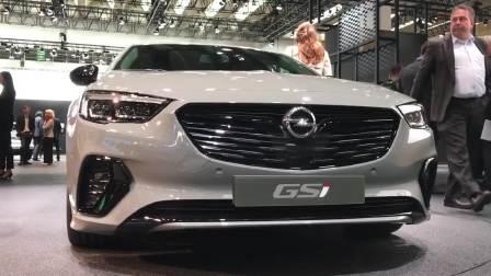 2017法兰克福车展 欧宝 GSI