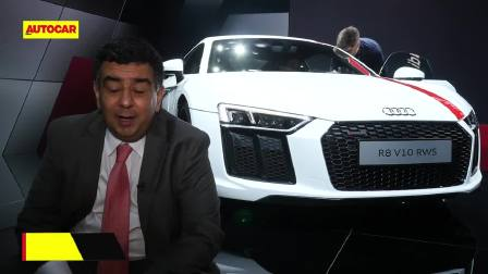 2017法兰克福车展 奥迪R8 V10