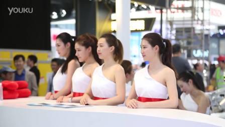2016北京车展 超越车模的俊男靓女们
