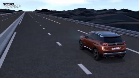 2016标致3008--驾驶辅助系统场景演示