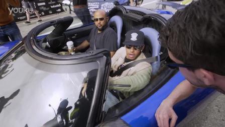 汉密尔顿和Deadmau5开车从洛杉矶到拉斯维加斯