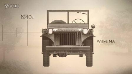 75周年jeep品牌车辆进化