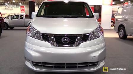 2015纽约车展 Nissan NV200外观内饰