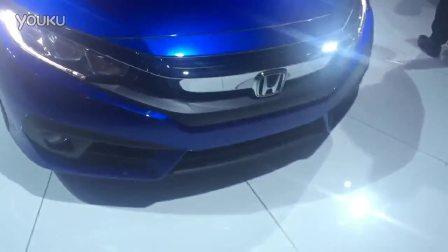 2016北京车展预热 全新一代本田思域