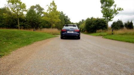 外媒西装男严肃评测 新奥迪RS6 Avant