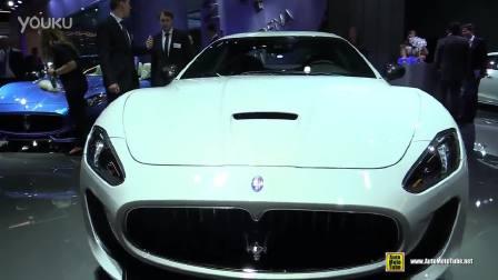 车展实拍 超酷玛莎拉蒂GT外观内饰赏析