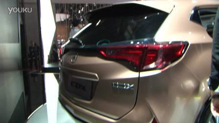 2016北京车展 广汽讴歌首款国产SUV CDX