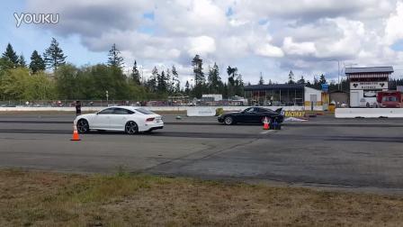 奥迪RS7vs保时捷911涡轮NWN赛车活动
