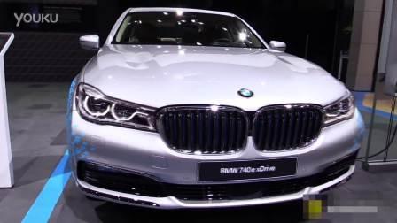 2016成都车展预热 BMW 740e 混动的奢华