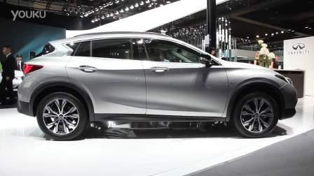 2016北京车展 最时尚的SUV英菲尼迪QX30