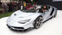 2016年兰博基尼限量版Centenario Roadster最新亮相