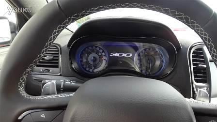 克莱斯勒300S豪华车体内外细节实拍展示