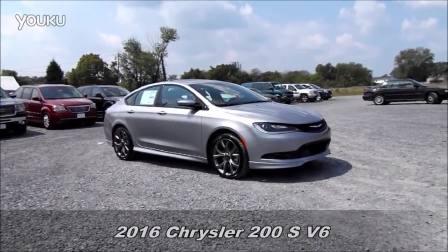 2016克莱斯勒200SV6性能评测及驾驶体验