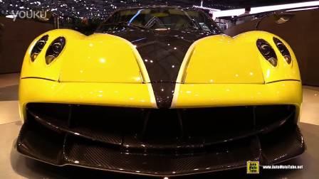 2016年日内瓦车展之帕加尼 Huayra展示