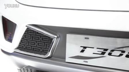 2016北京车展 独具风格的众泰T300亮相