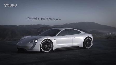 保时捷电动概念超级跑车