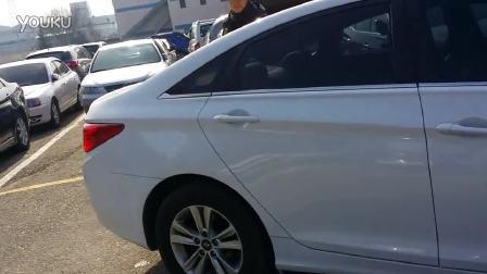 韩国现代索纳塔八 外观内饰试驾实测