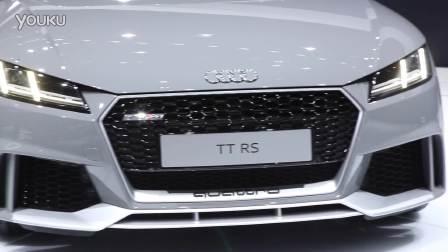 2016北京车展 超级钢炮奥迪TT RS亮相