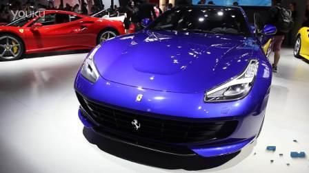 2016广州车展 法拉利GTC4Lusso T延续FF经典传奇