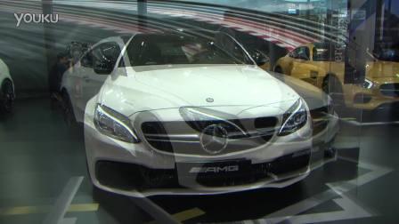 2016北京车展 AMG C63S Coupe亮相