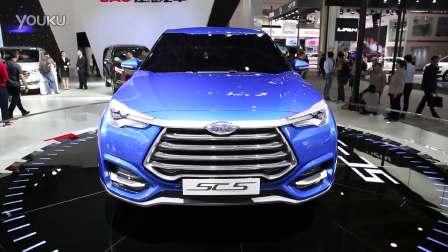2016北京车展 国产概念SUV 江淮SC5