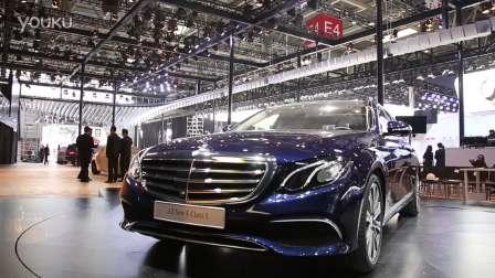 2016北京车展 北京奔驰全新E级长轴距版