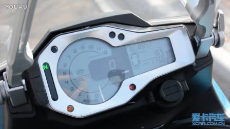 春风650MT仪表 排气声音