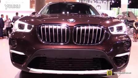 2016年洛杉矶车展 宝马X1 内外展示