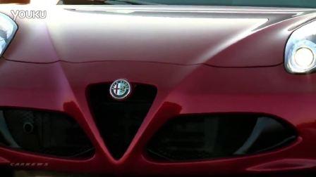 全新ALFA ROMEO 4C Coupe实拍体验