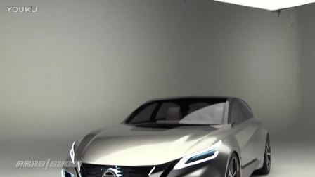 日产Vmotion 2.0 概念车更大胆更超前