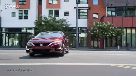 2017款本田氢燃料电池车Clarity动态展示