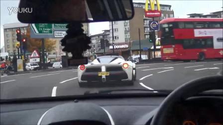 开着全新 LaFerrari 在伦敦街头带你装逼带你飞