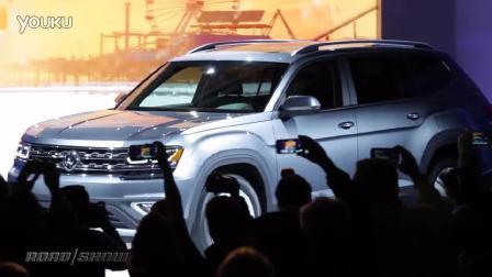 大众Atlas发布 首款中大型SUV抢先看