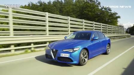 2017款Alfa Romeo GIULIA道路行驶