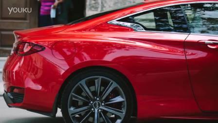 2017款英菲尼迪Q60 令人惊艳的一抹红