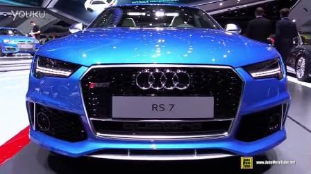 2015法兰克福车展 2016款奥迪RS7静态实拍