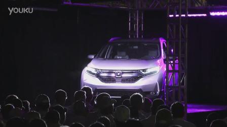 2017款本田CR-V 生产车间展示