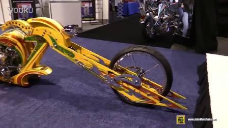 如此超酷拉风的摩托车你见过没