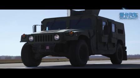 十二辆跑车在美国空军基地直线加速比拼