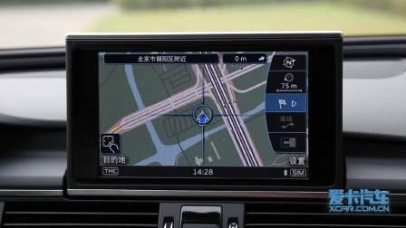 奥迪A6 allroad 导航系统展示