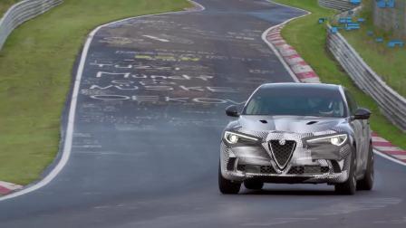 最快量产SUV诞生阿尔法・罗密欧Stelvio