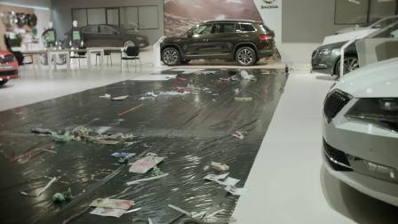 斯柯达品牌艺术大赛  艺术的美惊艳亮相