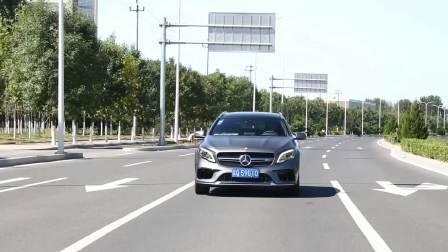 奔驰GLA级AMG 车道保持系统展示