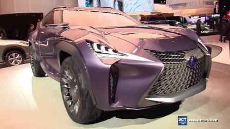 2017底特律车展雷克萨斯UX概念车外观展示