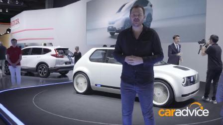 2017法兰克福车展 本田 EV