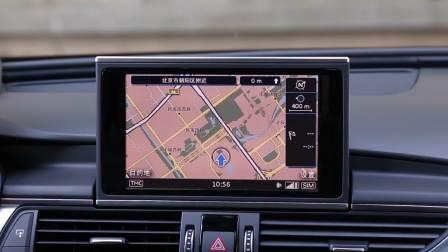 奥迪A6L 导航系统展示